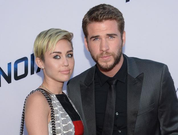 Miley Cyrus i Liam Hemsworth już nie są parą fot. Jason Kempin /Getty Images/Flash Press Media