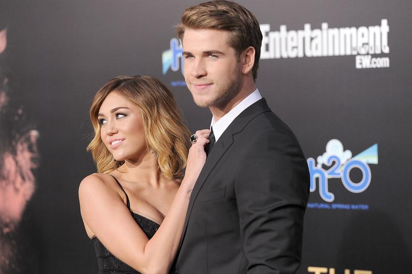 Miley Cyrus i Liam Hemsworth kilka lat temu /Jason Merritt /Getty Images