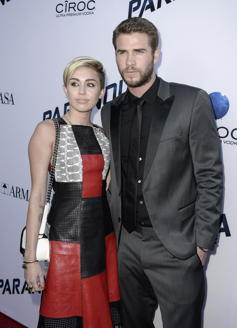 Miley Cyrus i Liam Hemsworth /Kevin Winter /Getty Images
