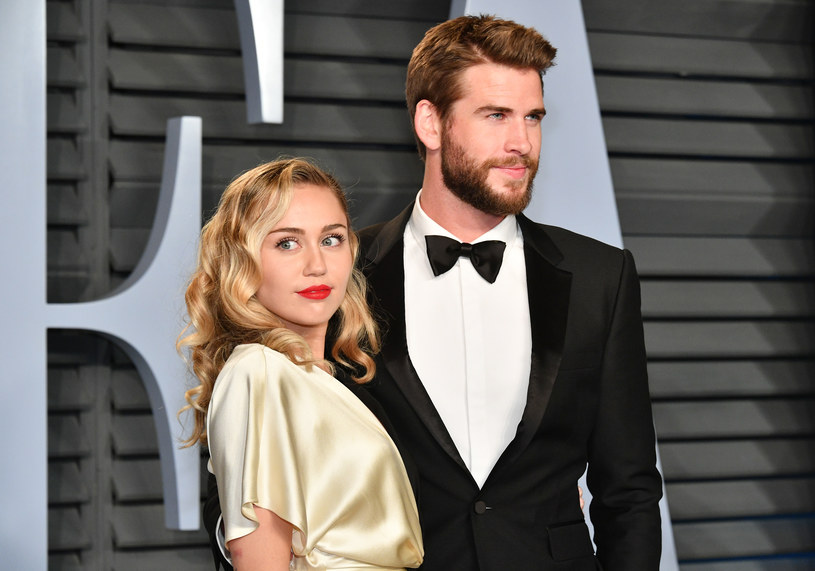 Miley Cyrus i Liam Hemsworth /Dia Dipasupil /Getty Images