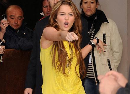 Miley Cyrus ma powody do radości - fot. Carlos Alvarez /Getty Images/Flash Press Media