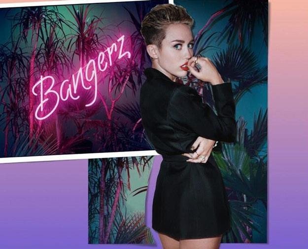 """Miley Cyrus na okładce albumu """"Bangerz"""" /"""