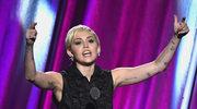 Miley Cyrus znów szokuje!