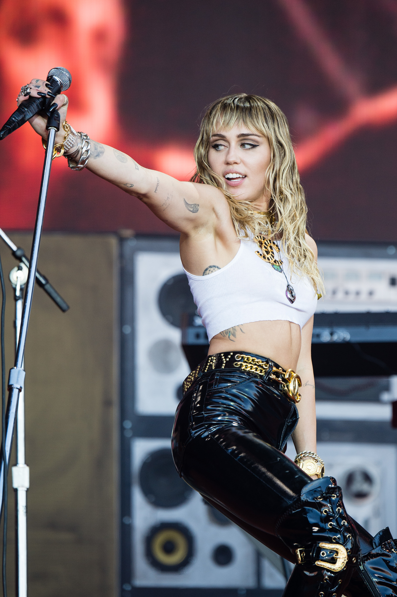 Miley Cyrus /Harry Durrant /Getty Images