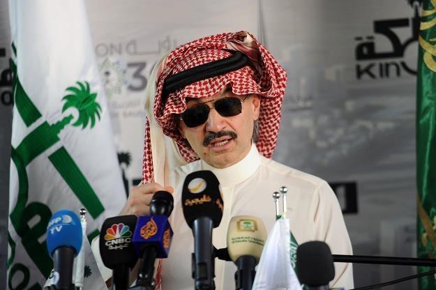 Miliarder Alwaleed bin Talal /AFP