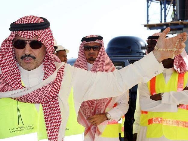 Miliarder Alwaleed bin Talal /Superfund.pl