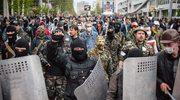 Milicyjny sabotaż na wschodzie Ukriany