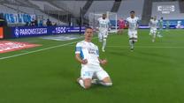 Milik i gol! Tak Olympique Marsylia wyszła na prowadzenie (ELEVEN SPORTS). WIDEO