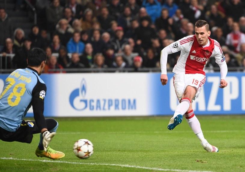 Milik w meczu Eredivisie /AFP