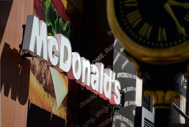 Milion dolarów w polskim McDonaldzie /AFP
