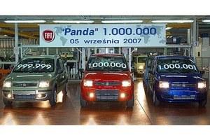 Milion fiatów panda!