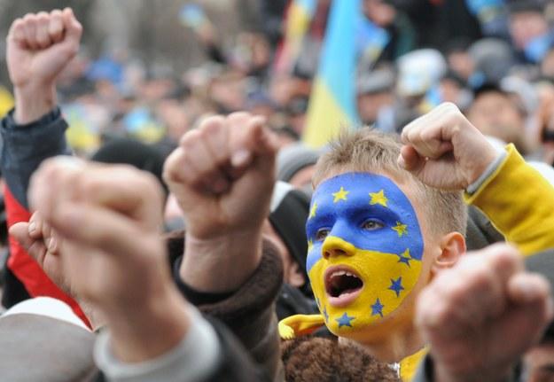 Milion Ukrainców w Polsce /AFP
