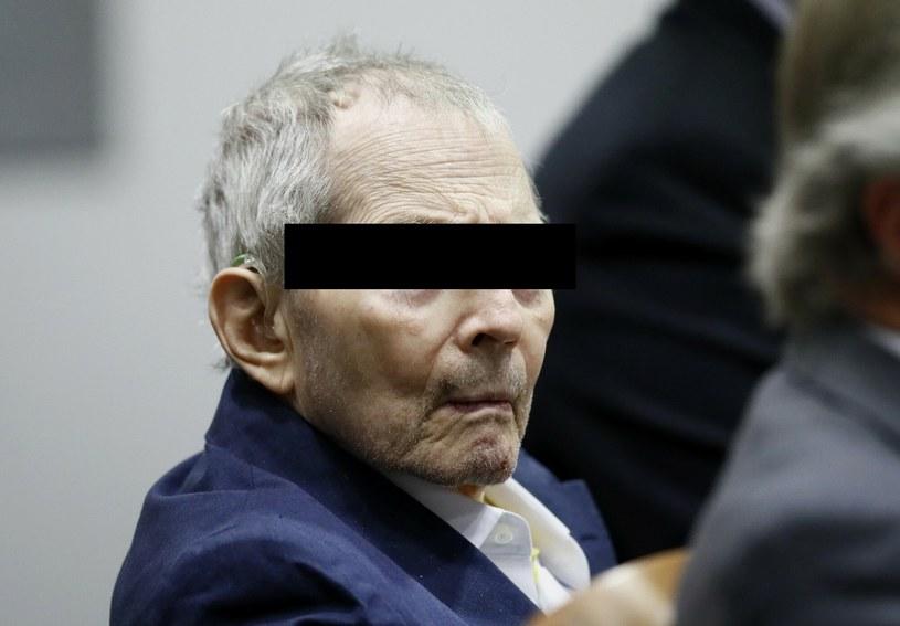 Milioner Robert Durst uznany winnym zabójstwa swej przyjaciółki /POOL EPA/Associated Press/East News /East News