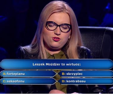 """""""Milionerzy"""": Pytanie o Leszka Możdżera za 20 tys. zł"""