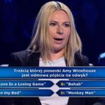 """""""Milionerzy"""": Pytanie o przebój Amy Winehouse za 20 tys. zł"""