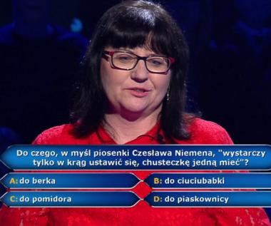 """""""Milionerzy"""": Pytanie o przebój Czesława Niemena za 20 tys. zł"""
