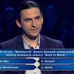 """""""Milionerzy"""": Pytanie o przebój z """"Westworld"""" za 20 tys. zł [MILIONERZY TVN]"""