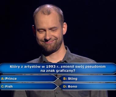 """""""Milionerzy"""": Pytanie za 125 tys. zł o znanego artystę"""