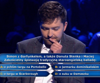 """""""Milionerzy"""": Pytanie za 20 tys. zł o przebój duetu Simon & Garfunkel"""