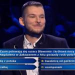 """""""Milionerzy"""": Pytanie za 20 tys. zł o przebój Sławomira"""