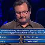"""""""Milionerzy"""": Pytanie za 40 tys. zł o zamach w Manchesterze"""