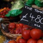 Milionów Brytyjczyków nie będzie stać na warzywa i owoce?