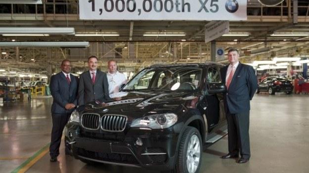 Milionowy egzemplarz BMW X5 /BMW