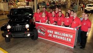Milionowy Jeep Wrangler JK