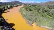 Miliony litrów toksycznych wód zabarwiły na pomarańczowo rzekę w Kolorado