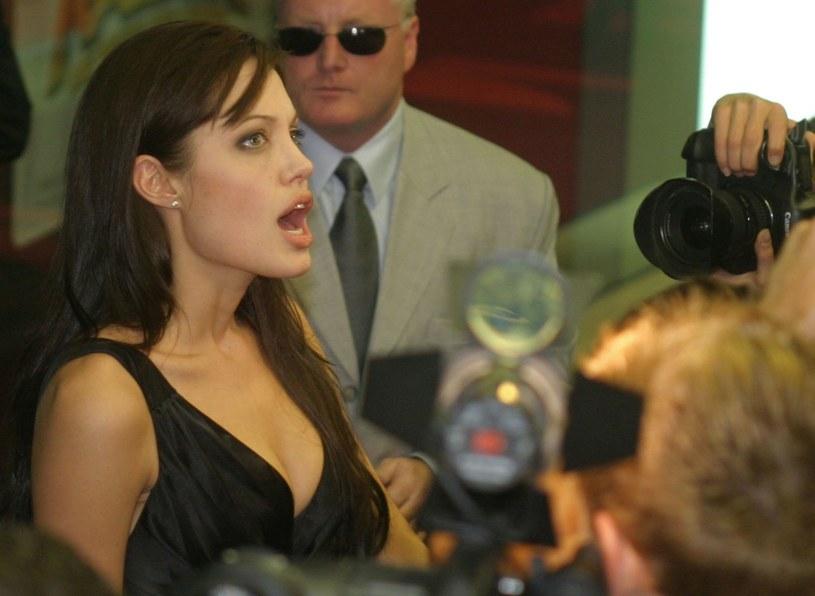 Miliony mężczyzn marzą, żeby zobaczyć Angelinę w trylogii erotycznej /AFP