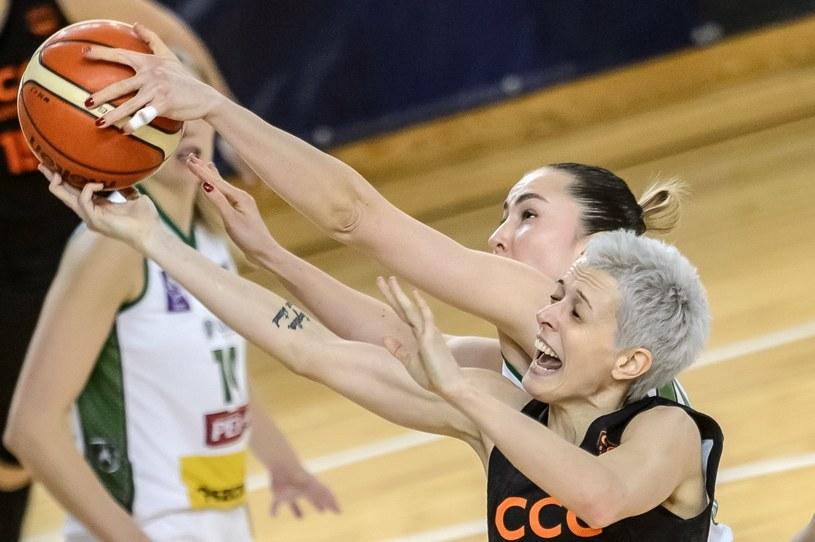 Miljana Bojovic (P) z CCC Polkowice /Wojciech Pacewicz /PAP