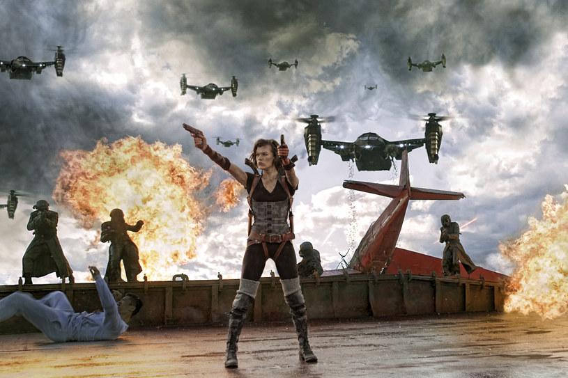 "Milla Jovovich w filmie ""Resident Evil: Retrybucja"" /materiały dystrybutora"