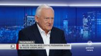 """Miller w """"Gościu Wydarzeń"""": Polska może również zostać pozbawiona prawa głosu na Radzie Europejskiej"""