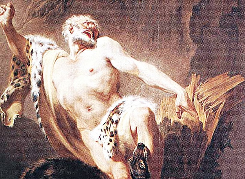 Milon z Krotonu - legendarny atleta /21 wiek - history