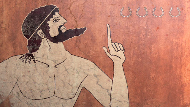 Milon z Krotonu to przodek współczesnych kulturystów /AFP