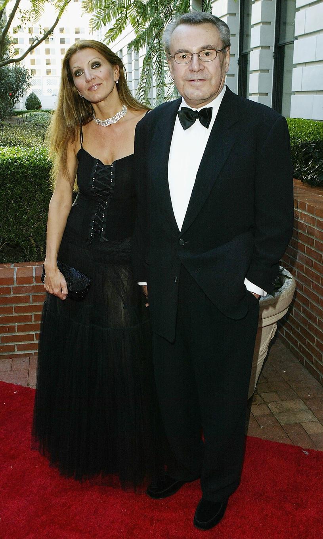 Miloš Forman z żoną Martiną Zborilovą /Mark Mainz /Getty Images