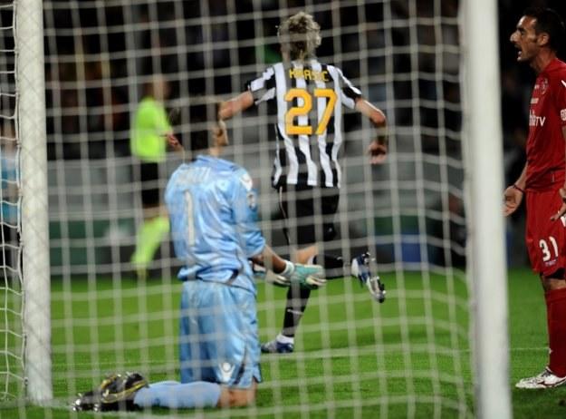 Milos Krasić zdobył trzy bramki dla Juventusu /AFP