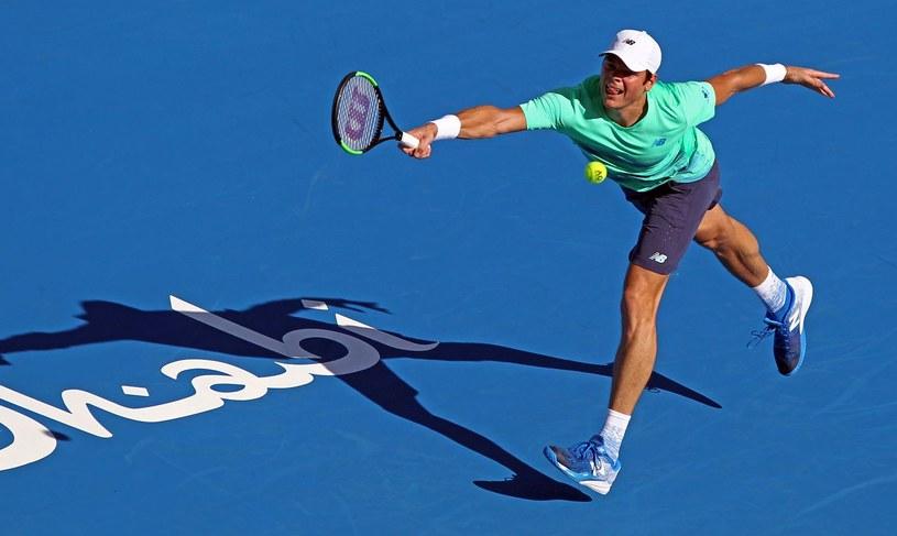 Milos Raonic jest najwyżej rozstawionym zawodnikiem turnieju ATP w Delray Beach /AFP