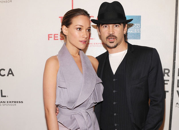 Miłość Alicji i Collina narodziła się na planie filmowym /Getty Images/Flash Press Media