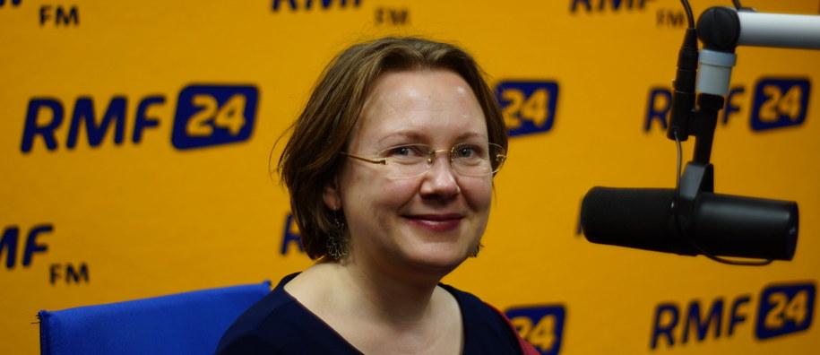 Miłosława Krogulska - astrolog z Warszawskiej Szkoły Astrologii /Michał  Dukaczewski /RMF FM