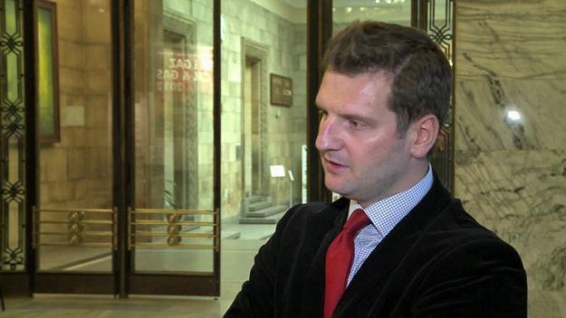 Miłosz Karpiński, naczelnik wydziału ropy i gazu Ministerstwa Gospodarki /Newseria Biznes