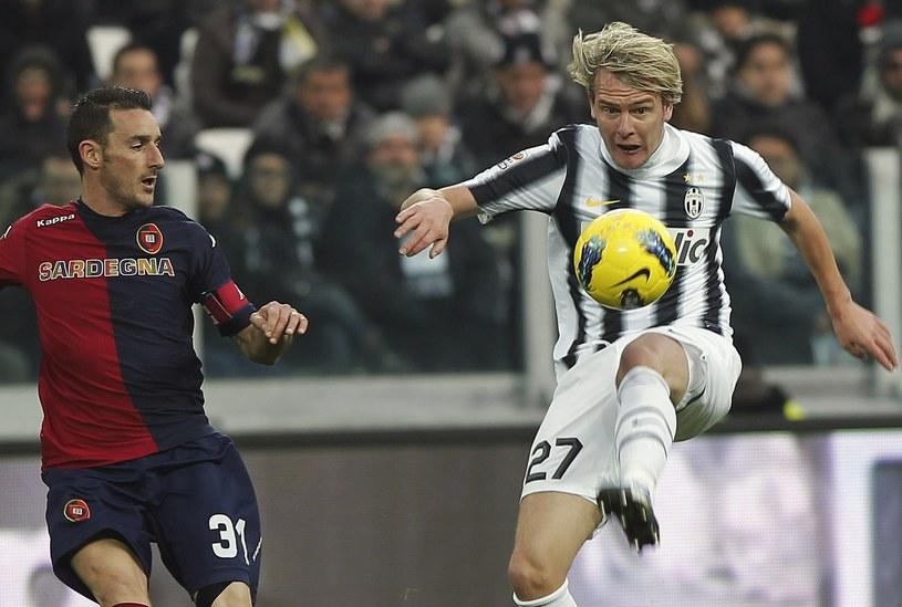 Milosz Krasić (z prawej) tu jeszcze w koszulce Juventusu Turyn /AFP