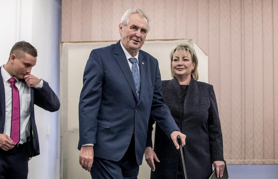 Milosz Zeman /Martin Divisek /PAP/EPA