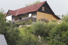Milówka: Osunięcia ziemi w Kolonii Prusów