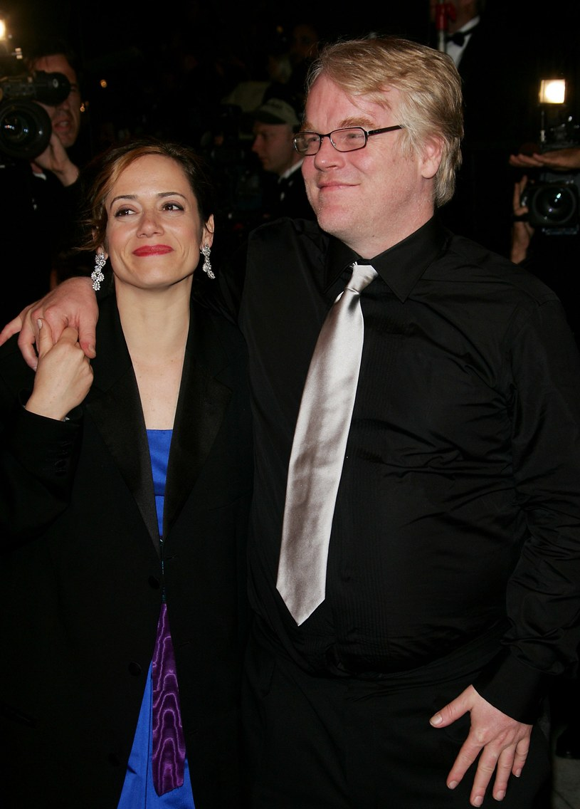 Mimi O'Donnell i Philip Seymour Hoffman (2006) /Gregg DeGuire/WireImage /Getty Images