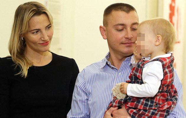 Mimo rozwodu potrafią żyć ze sobą w zgodzie /Mariusz Grzelak /Reporter