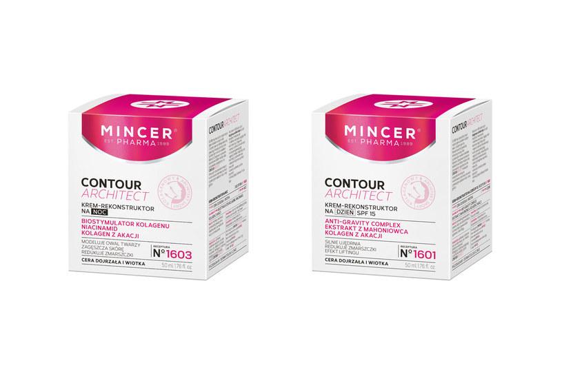 Mincer Pharma: N°1601 i N°1603 Contour Architect /materiały prasowe