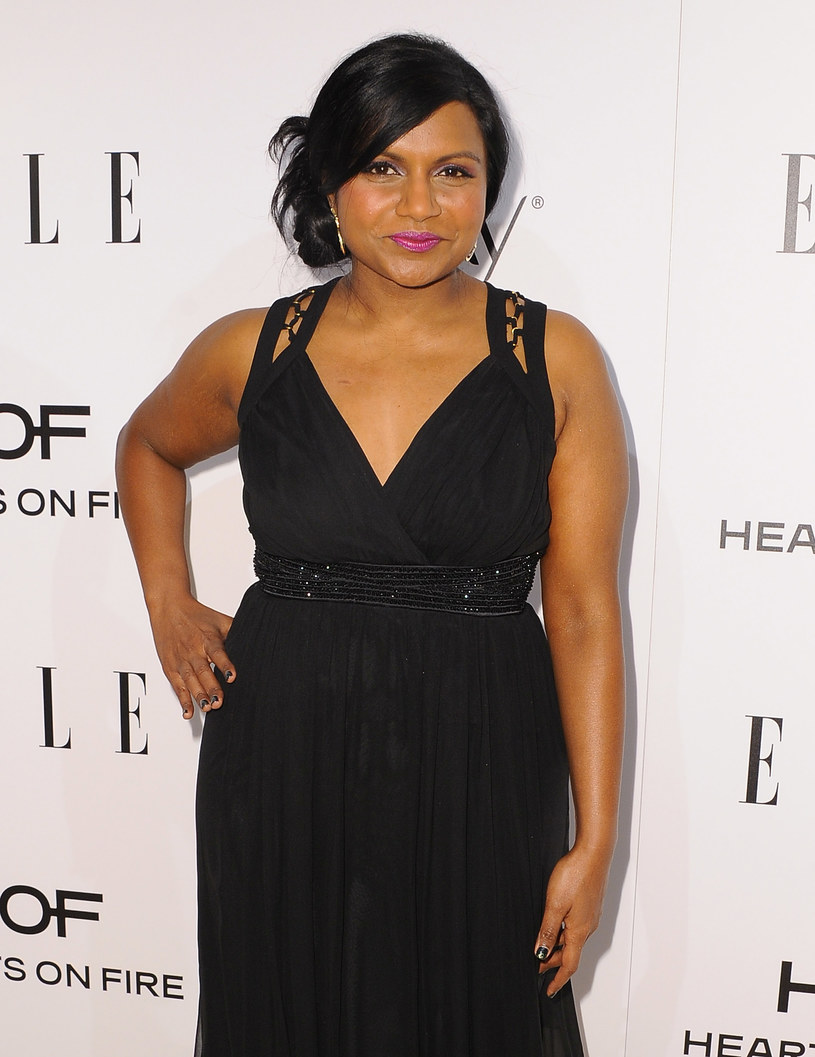Mindy Kaling /- /Getty Images