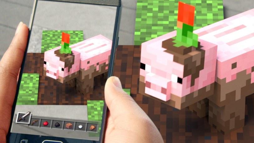 Minecraft Earth /materiały prasowe