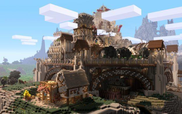 Minecraft - jedna z grafik prezentowanych na stronie http://deadendthrills.com /